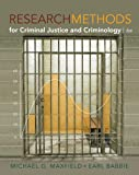 Maxfield, Michael G.: Bundle: Research Methods for Criminal Justice and Criminology, 6th + WebTutor(TM) ToolBox for Blackboard Printed Access Card