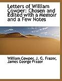 Cowper, William: Letters of William Cowper