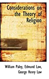 Paley: Considerations on the Theory of Religion