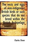 Dixon, Charles: The nests and eggs of non-indigenous British birds or such species that do not breed within the Brit