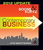 Contemporary Business: 2012 Update…