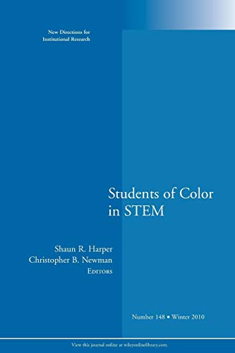 students-of-color-in-stem-new-directions-for-institutional-research-number-148