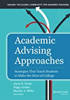 Academic Advising Approaches: Strategies…