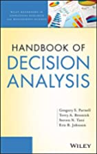 Handbook of Decision Analysis by Gregory S.…