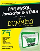 PHP, MySQL, JavaScript & HTML5 All-in-One…