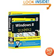 Windows 8 For Dummies, Book + DVD Bundle
