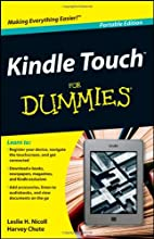 Kindle Touch For Dummies Portable Edition by…