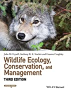 Wildlife Ecology, Conservation, and…