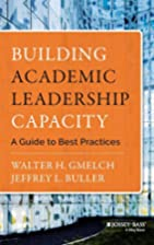 Building Academic Leadership Capacity: A…