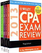 Wiley CPA Exam Review 2013: 4 Volume Set by…