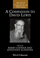 A Companion to David Lewis (Blackwell…