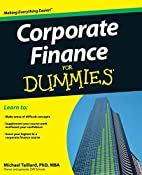 Corporate Finance For Dummies by Michael…