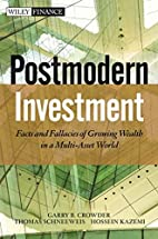 Alternative Investment Field Guide: Lessons…