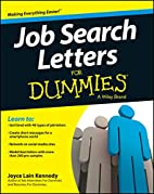 Job Search Letters For Dummies by Joyce Lain…