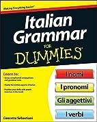 Italian grammar for dummies by Beth…