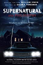 Supernatural and Philosophy: Metaphysics and…