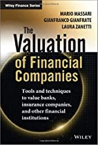 The Valuation of Financial Companies: Tools…