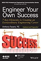 Engineer Your Own Success: 7 Key Elements to…