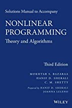 Solutions Manual to accompany Nonlinear…