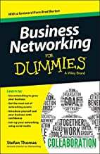 Business Networking For Dummies (For Dummies…