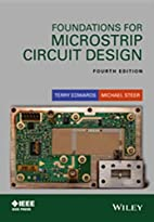 Foundations for Microstrip Circuit Design by…