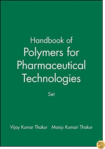 Handbook of Polymers for Pharmaceutical Technologies, Set