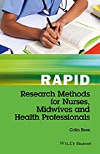 Rapid Research Methods for Nurses, Midwives…
