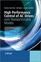 High Performance Control of AC Drives with…