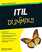 ITIL For Dummies by Peter Farenden