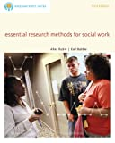 Rubin, Allen: Bundle: Brooks/Cole Empowerment Series: Essential Research Methods for Social Work, 3rd + Practice Behaviors Workbook