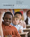 Ary, Donald: Introduction to Research in Education