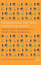Humanizing the Web: Change and Social…