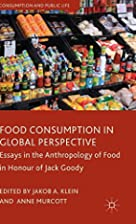 Food consumption in global perspective :…