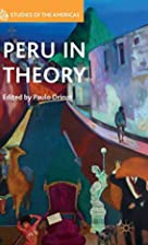 Peru in theory by Paulo Drinot