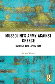 Mussolini's Army against Greece:…