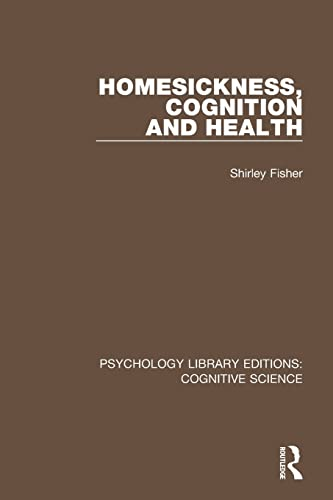 homesickness-cognition-and-health-psychology-library-editions-cognitive-science