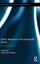 Public Relations in the Nonprofit Sector:…