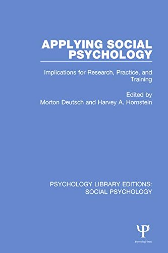 applying-social-psychology-implications-for-research-practice-and-training-psychology-library-editions-social-psychology-volume-8