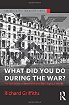 What Did You Do During the War?: The Last…