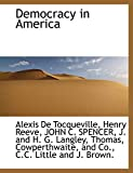 Tocqueville, Alexis De: Democracy in America