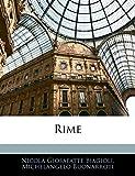 Biagioli, Nicolà Giosafatte: Rime (Italian Edition)