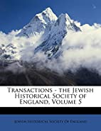 Transactions - the Jewish Historical Society…