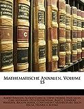 Einstein, Albert: Mathematische Annalen, Volume 15