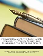 German romance: specimens of its chief…