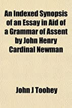 An indexed synopsis of the Grammar of…