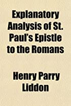 Explanatory Analysis of St. Paul's Epistle…