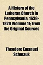 A history of the Lutheran Church in…