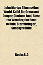 John Martyn Albums: One World, Solid Air,…