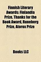 Finnish Literary Awards by LLC Books