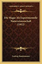 Die Magie Als Experimentelle…